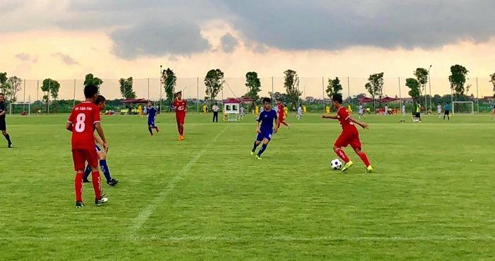 Xác định 8 đội vào tứ kết giải U13 toàn quốc 2018