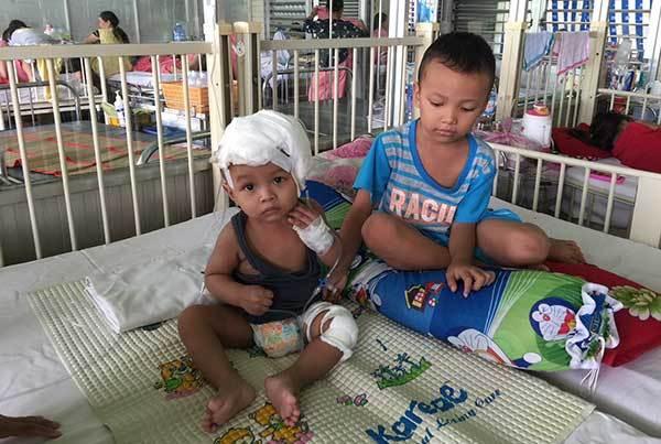 Phẫu thuật não,viêm màng não,tai nạn,hoàn cảnh khó khăn,bệnh hiểm nghèo