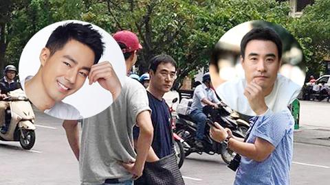 Fan Việt phấn khích khi thấy tài tử Jo In Sung đi dép lào ở Sài Gòn