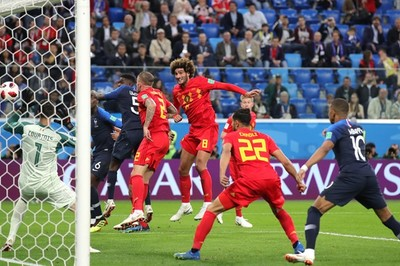 Video bàn thắng Pháp 1-0 Bỉ