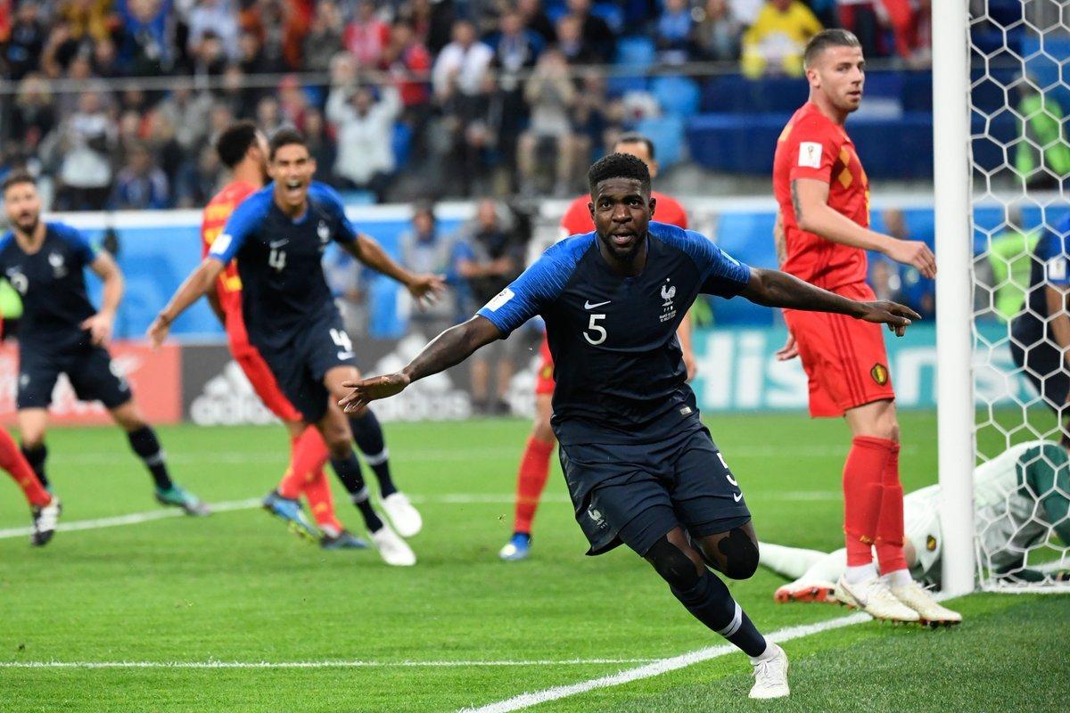 Niềm vui vô bờ bến của dàn sao Pháp khi vào chung kết