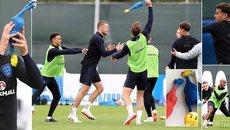 """Tuyển Anh chưa đấu Croatia đã đòi """"làm gỏi"""" Gà trống Pháp"""