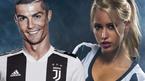 Hot girl đăng đàn đón Ronaldo cập bến Juventus