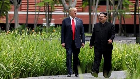 Donald Trump,Kim Jong Un,Mike Pompeo,phi hạt nhân hóa,Triều Tiên