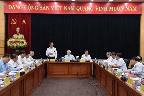 Tổng Bí thư Nguyễn Phú Trọng,Nguyễn Phú Trọng,Bộ Công thương