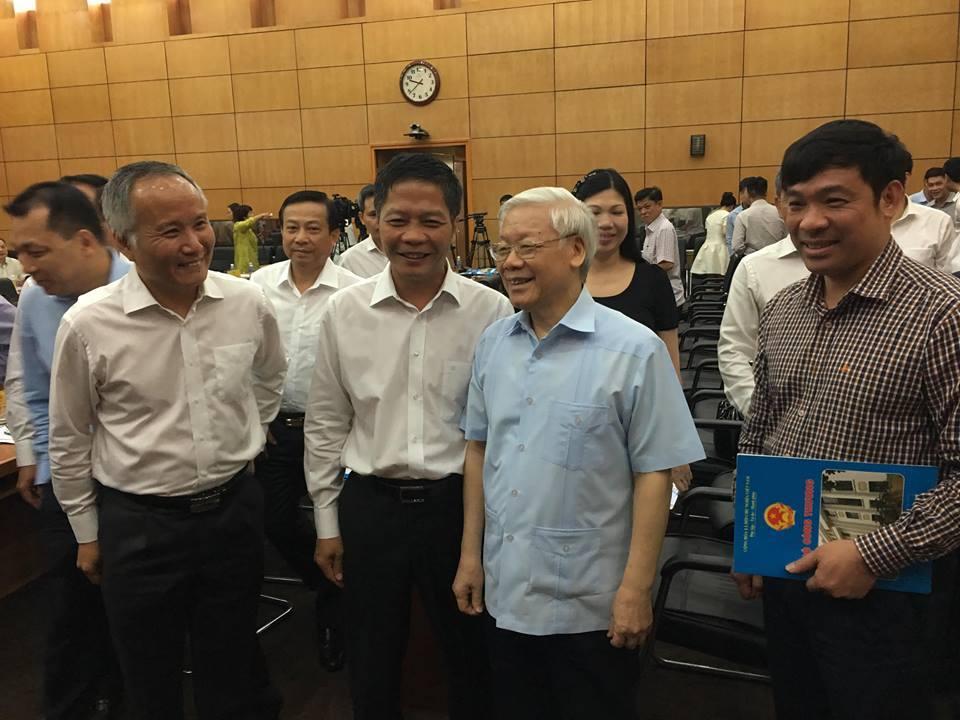 Tổng bí thư Nguyễn Phú Trọng: 'Xốc lại đội ngũ, tiếp tục tiến lên'