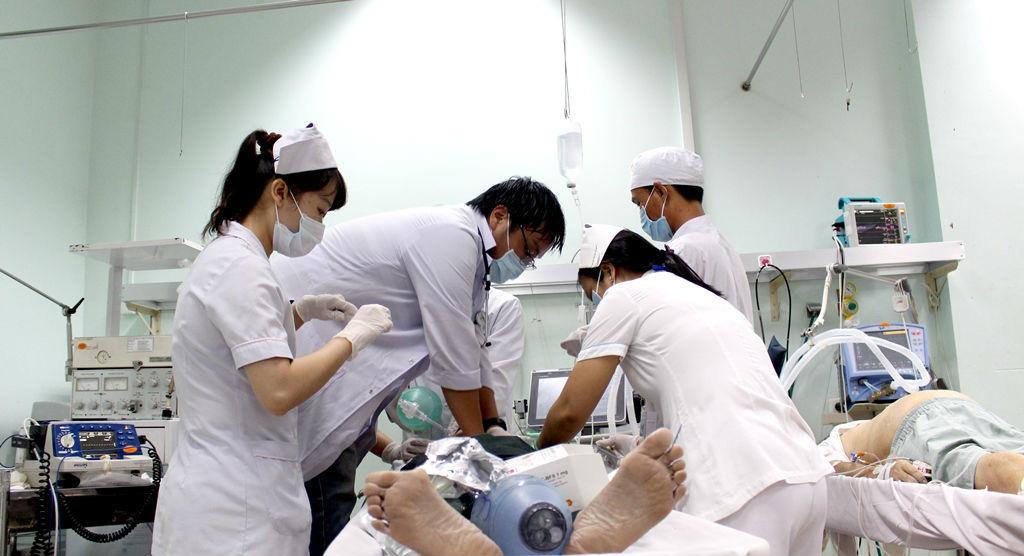 hoại tử,bệnh viện Nhân dân 115,cắt chi,tim mạch,suy tim