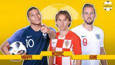 Xác định 2 đội vào chung kết World Cup 2018