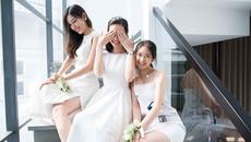 Nhà có 3 chị em xinh đẹp, dáng chuẩn cùng thi hoa hậu
