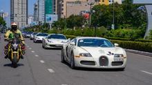Ngắm siêu xe bugatti Veyron của đại gia Đặng Lê Nguyên Vũ ở Hà Nội