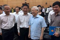 """Tổng bí thư Nguyễn Phú Trọng: """"Xốc lại đội ngũ, tiếp tục tiến lên"""""""