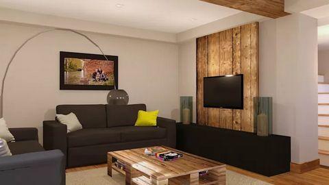 10 mẫu kệ TV trang trí nội thất phòng khách nhà đẹp hiện đại
