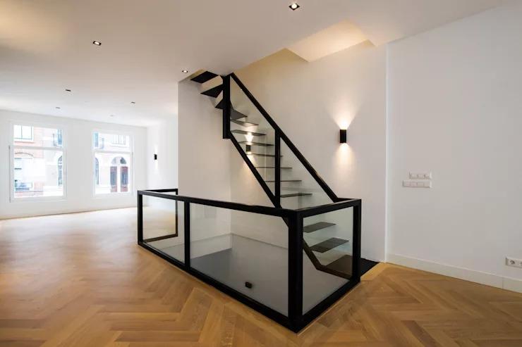 Những mẫu cầu thang sắt cho nhà đẹp cực đơn giản