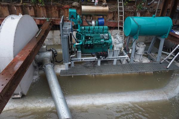 chống ngập,siêu máy bơm,Nguyễn Hữu Cảnh,ngập lụt,mưa lớn