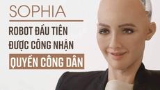 Công dân Robot Sophia sẽ đến Việt Nam vào ngày mai