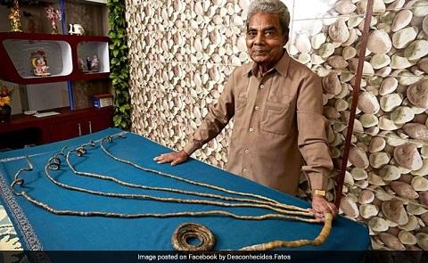 bộ móng dài nhất thế giới