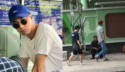 Hai tài tử Jo In Sung và bạn thân Bae Sung Woo bí mật đến TP.HCM