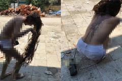 Cô gái nghi bị đánh ghen, đổ mắm tôm lên người ở Hà Nội