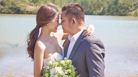 Ảnh cưới của Hà Thúy Anh và Tuấn Mario