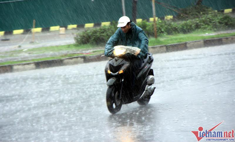 Dự báo thời tiết 13/7: Đêm nay miền Bắc có mưa to