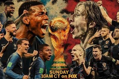 Chung kết World Cup 2018, Pháp vs Croatia: Sao lại là Pháp?