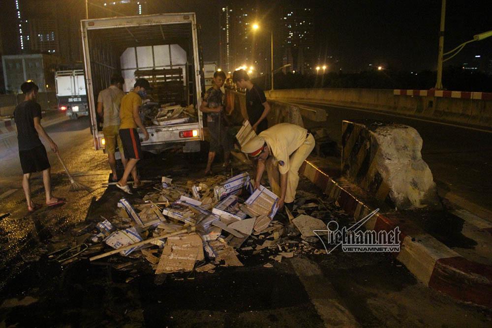 tai nạn,tai nạn giao thông,CSGT,vành đai 3,Hà Nội