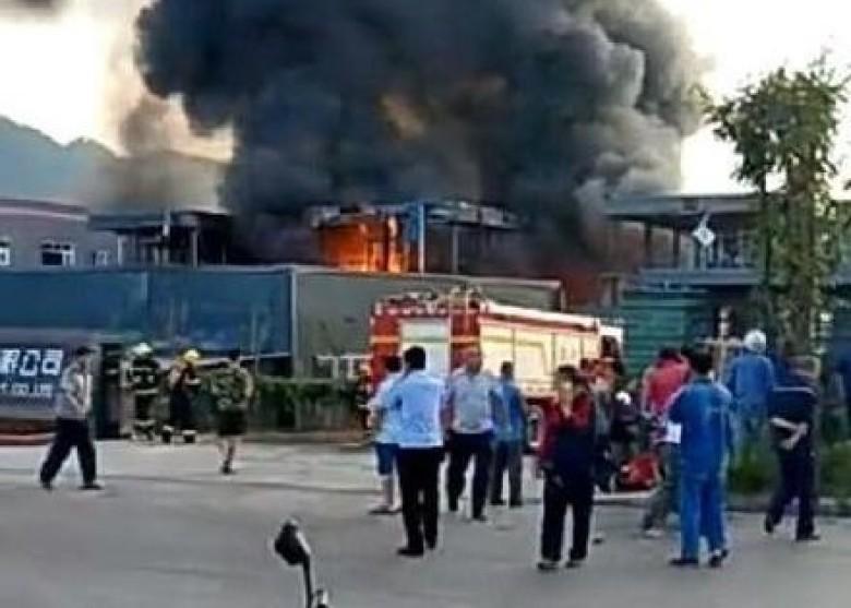 nổ lớn,tiếng nổ,thương vong,Trung Quốc