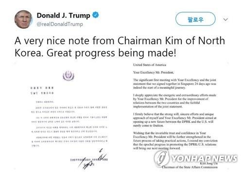 Kim Jong Un,Donald Trump,thư,hội nghị thượng đỉnh