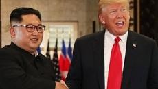 Ông Trump công bố thư của Kim Jong Un