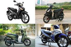 Những mẫu xe máy tầm giá 30 triệu đồng