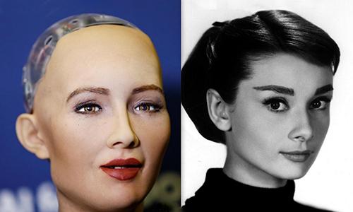 """Sophia - """"Công dân robot"""" đầu tiên đến Việt Nam trả lời phỏng vấn"""