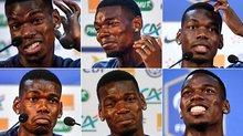 """Pogba loại bỏ Pháp ở thế """"cửa trên"""" so với Croatia"""