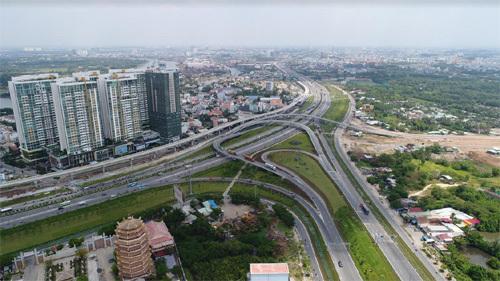 BĐS quận 2 'lên ngôi' nhờ hạ tầng