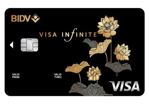 Trải nghiệm tuyệt vời cùng BIDV Visa Infinite