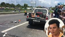 Lật mặt tài xế tông chết hai mẹ con rồi lái xe 100km bỏ trốn