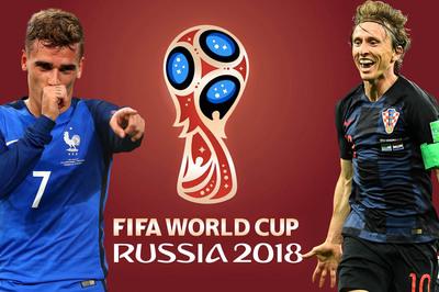 Chung kết World Cup 2018: Griezmann và Modric tranh Quả bóng Vàng