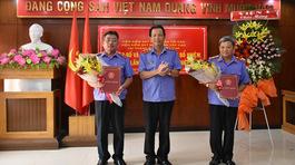 Thuyên chuyển, bổ nhiệm nhân sự Văn phòng Chính phủ, Viện KSNDTC