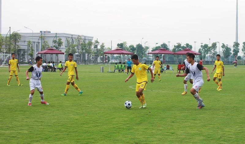 SLNA tranh ngôi vô địch U13 toàn quốc với PVF