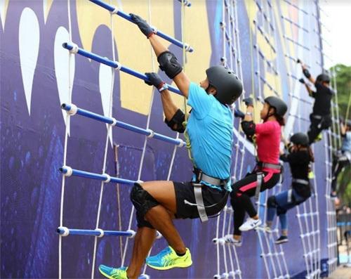 Bức tường Tiger làm xôn xao giới trẻ Đà Nẵng
