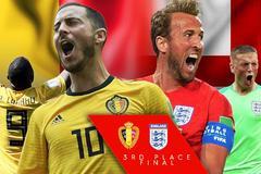 Anh vs Bỉ: Thết đãi tiệc bàn thắng