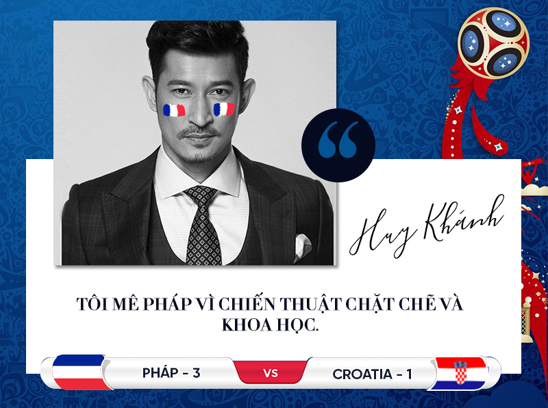 Sao Việt tin Pháp thắng Croatia đoạt cúp vàng World Cup 2018
