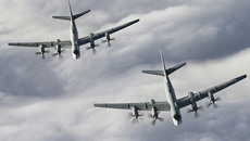 Hàn Quốc điều chiến cơ xua đuổi máy bay ném bom Nga