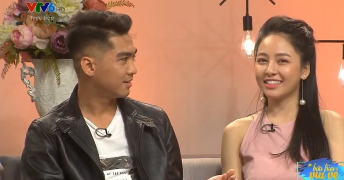 Pew Pew và hot girl Trâm Anh lại 'gây bão' khi xuất hiện ở VTV