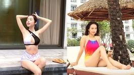 Ái Phương, Elly Trần khoe thân hình nóng bỏng 'thiêu đốt' ánh nhìn