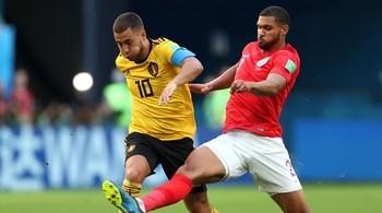 Video bàn thắng Anh 0-2 Bỉ