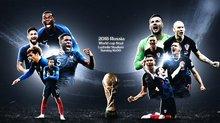 Pháp vs Croatia: Thiên đường màu Lam