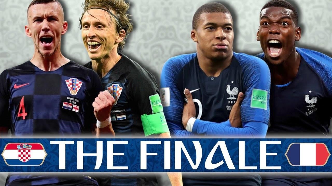 Pháp,Croatia,Pháp vs Croatia,Chung kết World Cup 2018