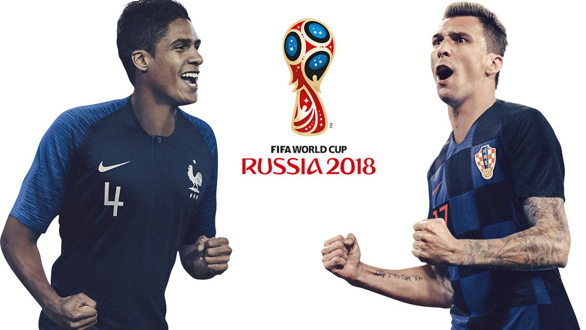 Pháp vs Croatia,Pháp,Croatia,chung kết World Cup,Griezmann,Mbappe,Modric,Mandzukic,Kante,Varane