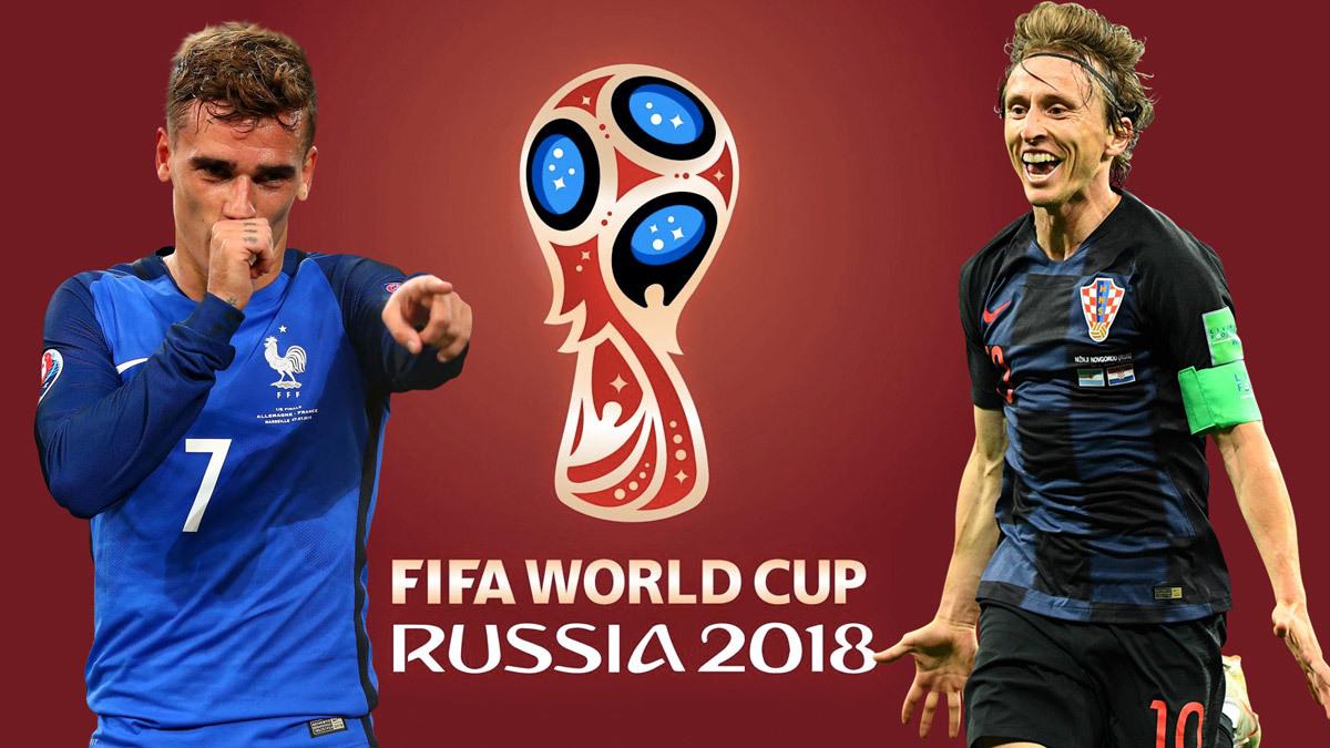 Chung kết World Cup 2018,World Cup,Đội tuyển Pháp,Đội tuyển Croatia