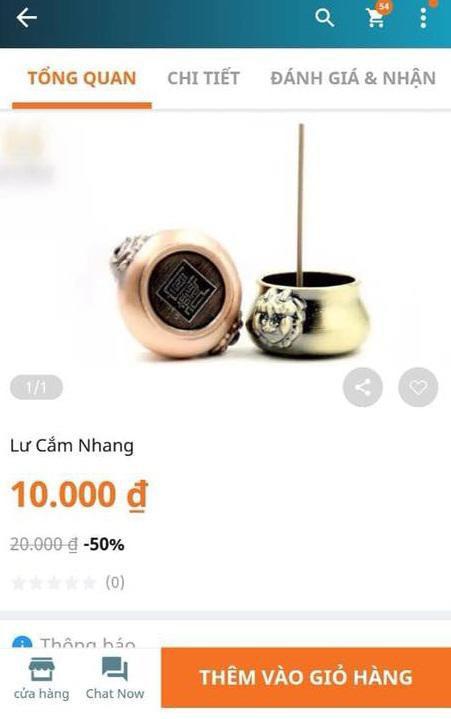Mua lư cắm hương giá 10.000 đồng, cô gái được phen 'hú hồn'